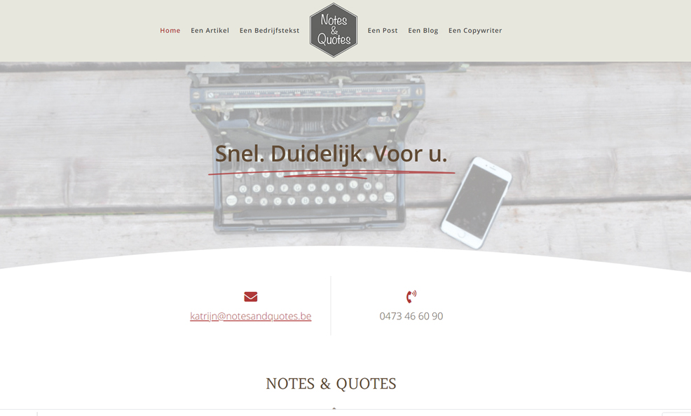 Notes & Quotes